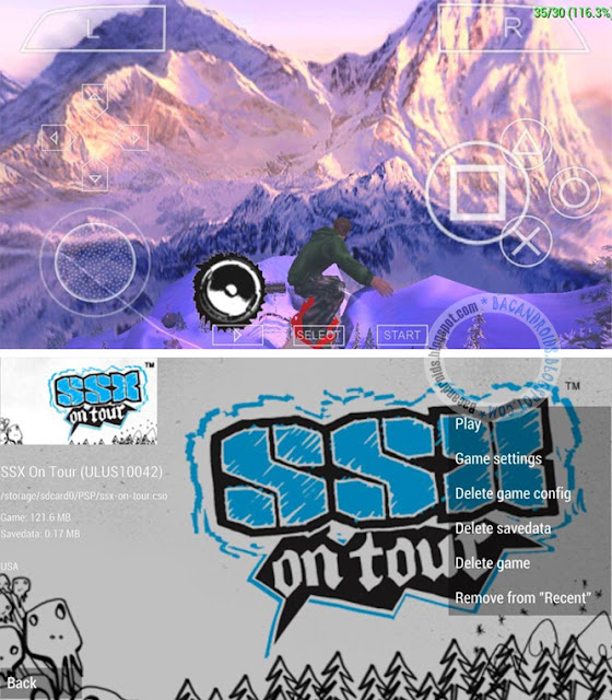game PSP Game SSX On Tour ISO CSO