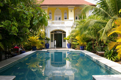 La splendida piscina al The Pavillion, Phnom Penh