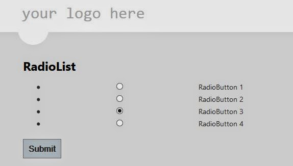Create RadioButton list and Access Checked Value in Asp.Net MVC