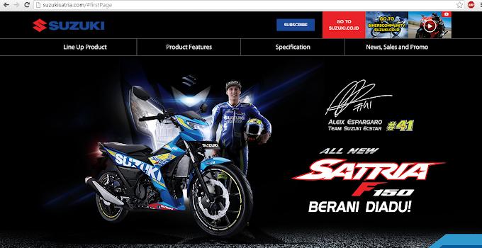 Hari Ini Launching Suzuki Buka Web Khusus Satria F150 FI
