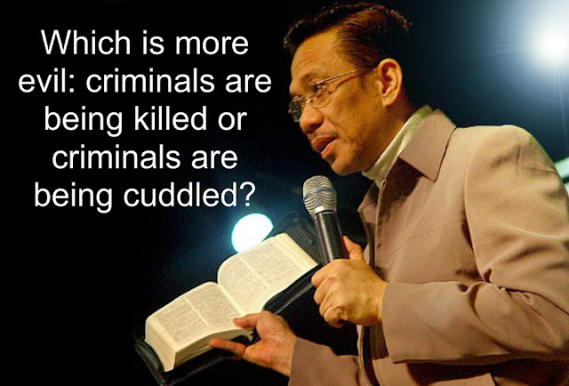 BRO. ELI: CRITICS USE 'EXTRA-JUDICIAL KILLINGS' TO OUST DUTERTE