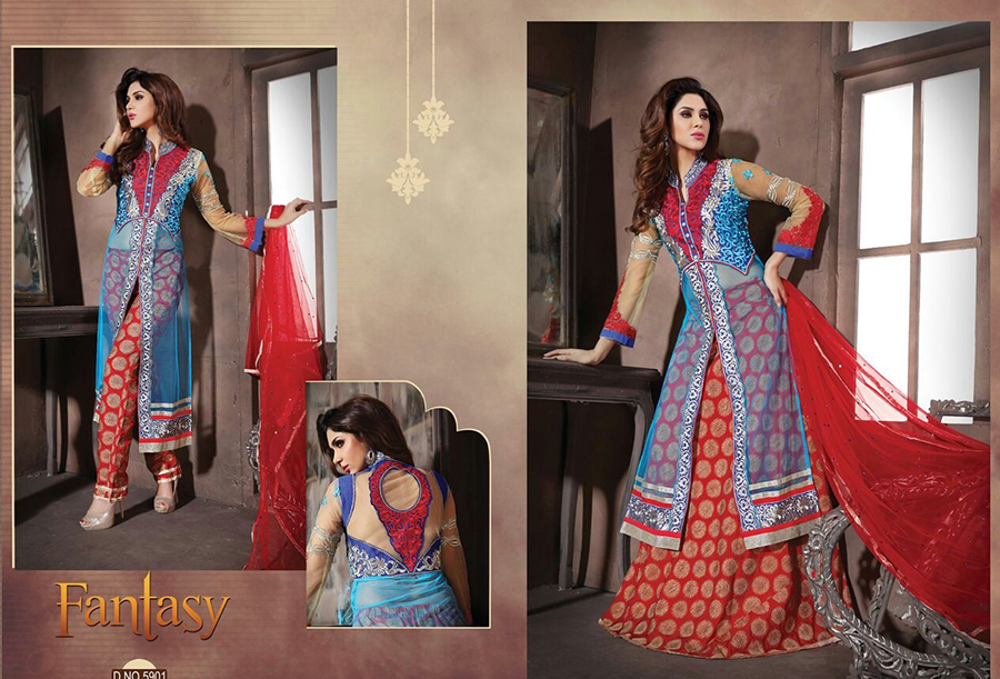 Khwaish Ki Fantasy – Elegance And Comfortable Designer Heavy Salwar Suit