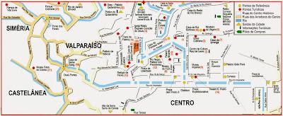 Mapa de Petrópolis - RJ