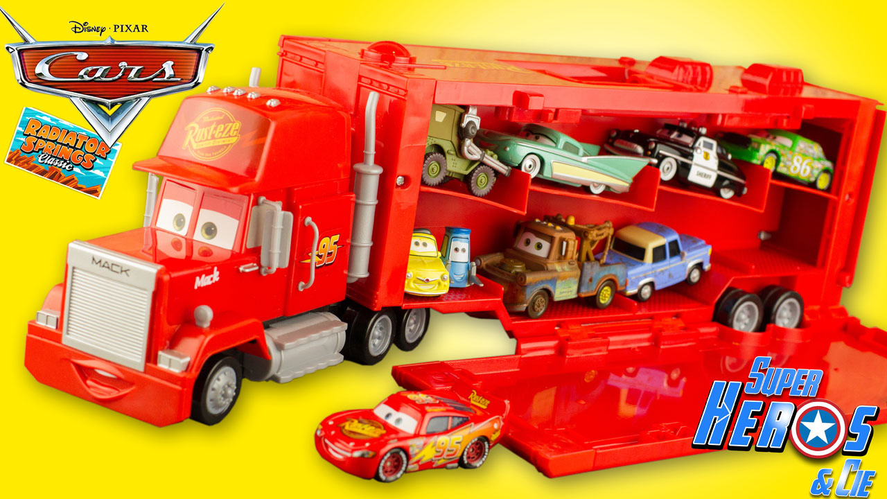 super h ros et compagnie disney cars camion. Black Bedroom Furniture Sets. Home Design Ideas