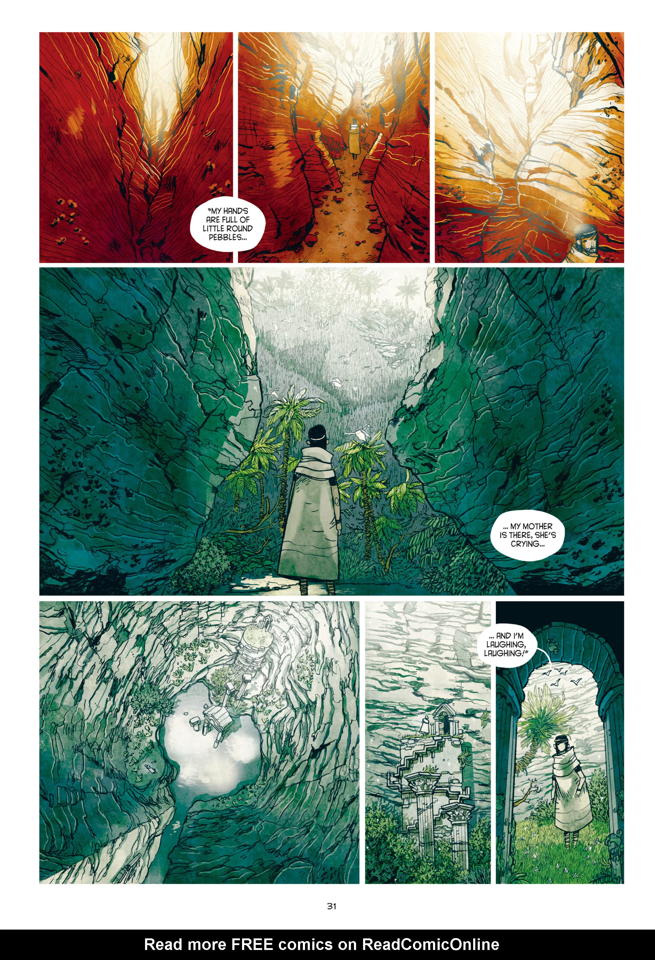 Read online Adrastée comic -  Issue #1 - 32