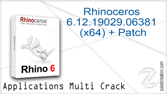 Application + Crack Patch Keygen: Rhinoceros 6 12 19029 06381 (x64