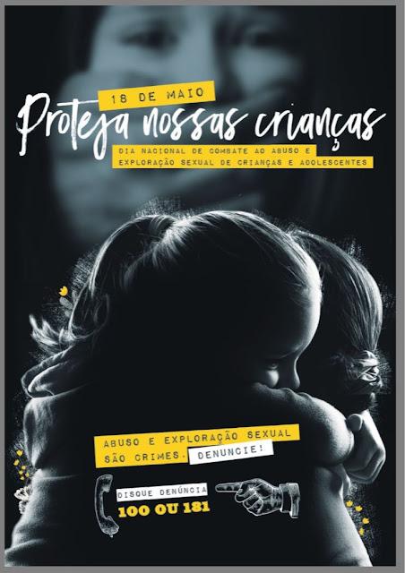 ILHA REALIZA CAMINHADA  SOLIDÁRIA NA QUINTA  18/05 EM ADESÃO AO DIA NACIONAL DE COMBATE AO ABUSO E EXPLORAÇÃO SEXUAL DE CRIANÇAS E ADOLESCENTES