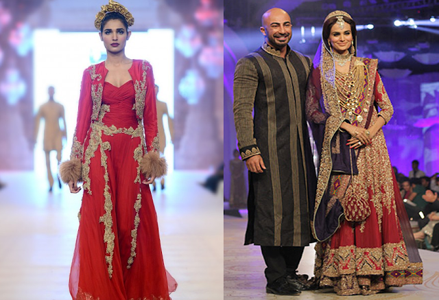 HOttest Bridal Outfits|HSY King of Fashion fashionwearstyle,com