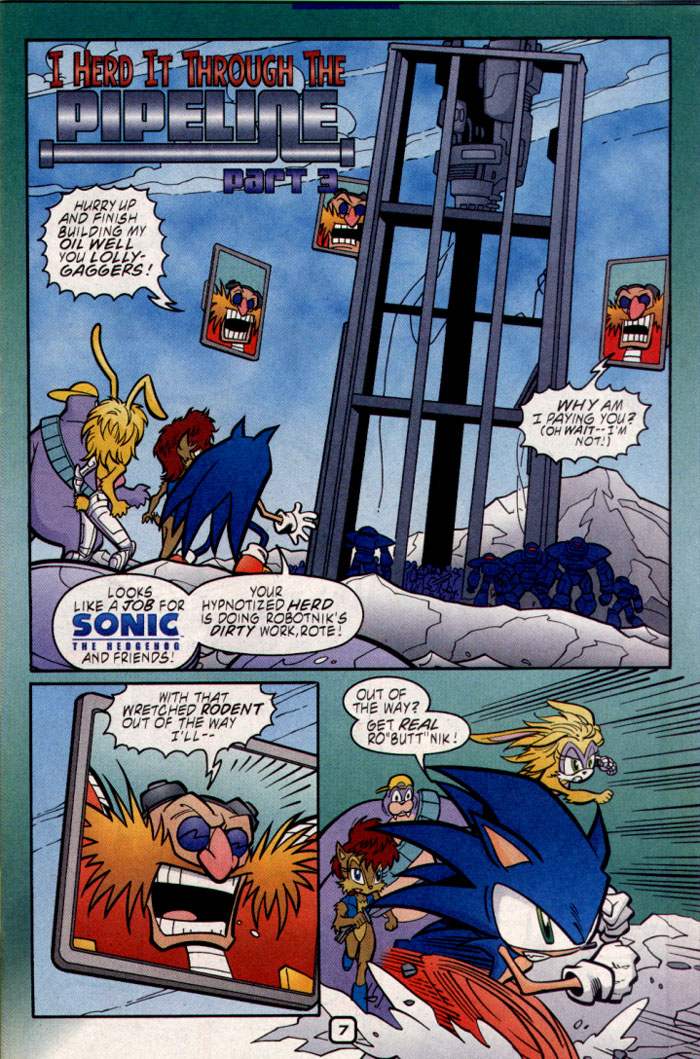 Read online Sonic The Hedgehog comic -  Issue #109 - 9