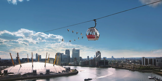 Emirates London Cable Car - www.All-About-London.com