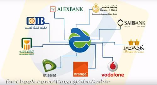 """خدمة تحويل Ta7weel الاموال عبر شركات المحمول والبنوك برعاية البنك المركزي """"دوس حول فلوس"""""""
