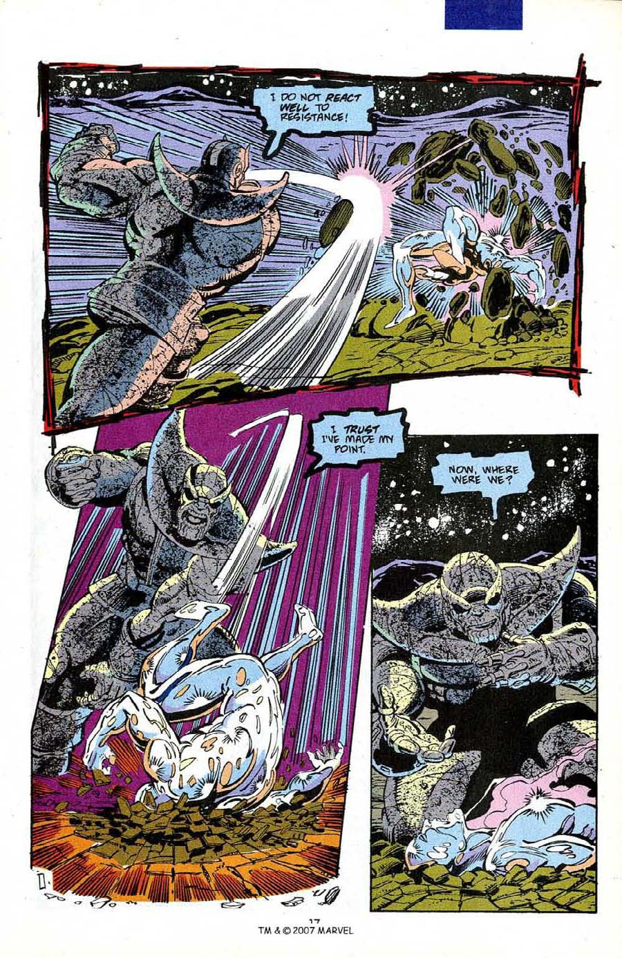 Read online Silver Surfer (1987) comic -  Issue #50 - 19