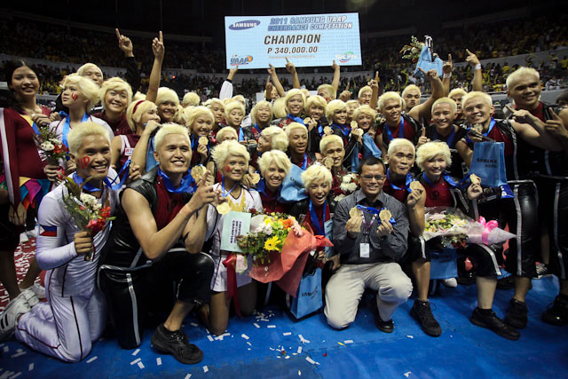 UP Pep Squad is the UAAP 75 Cheerdance Competition Champion