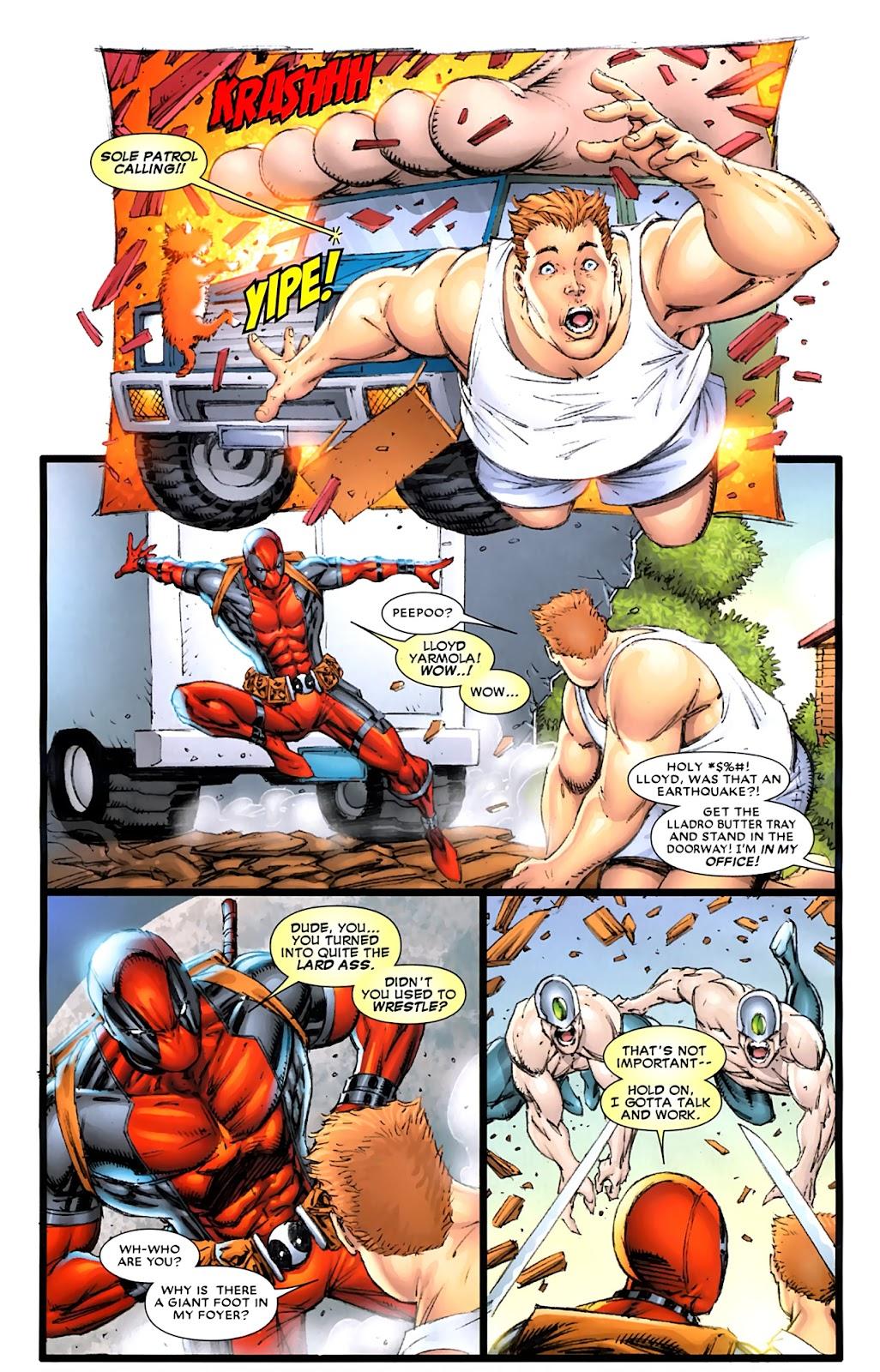 Read online Deadpool (2008) comic -  Issue #900 - 34