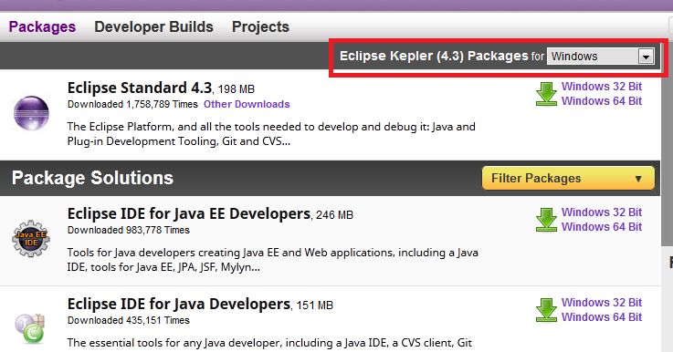 Download and Setup Eclipse Integrated Development Environment(IDE