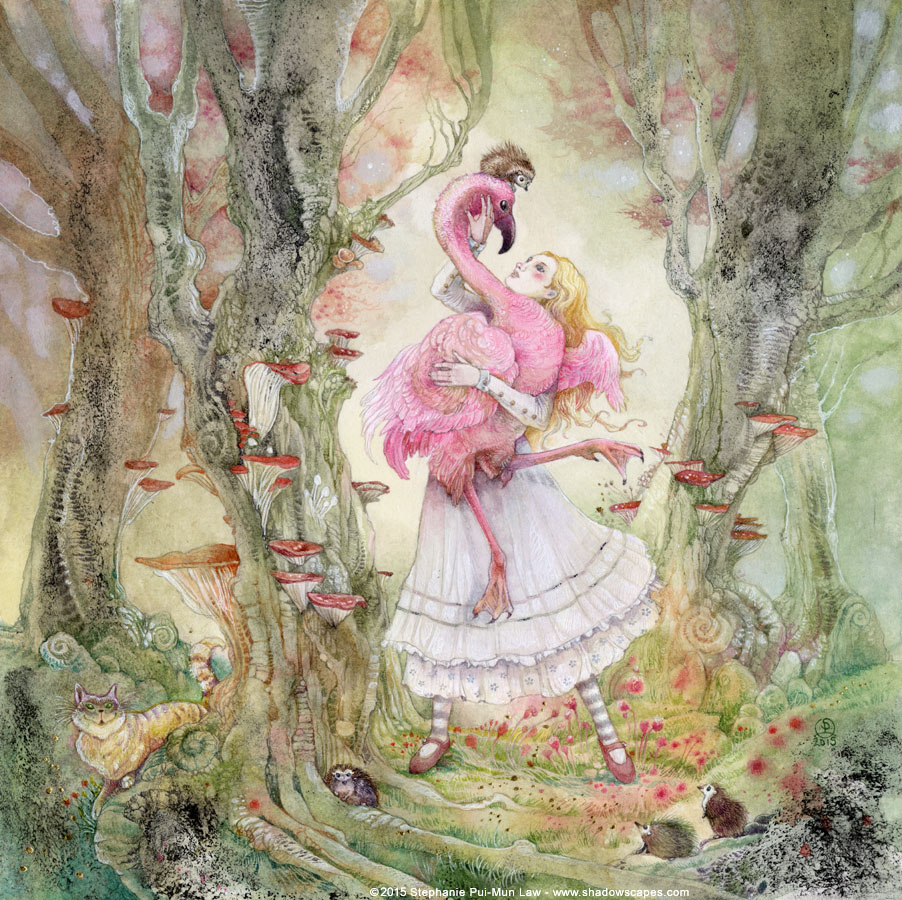 Game with watercolor - A Very Difficult Game Indeed Stephanie Law