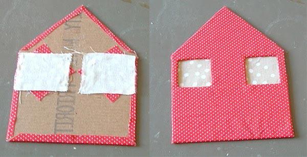 anlatımlı kartondan ev yapma