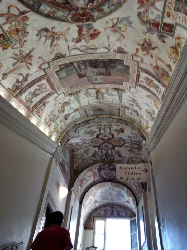 Cappela Sistina - Os Palácios Vaticanos
