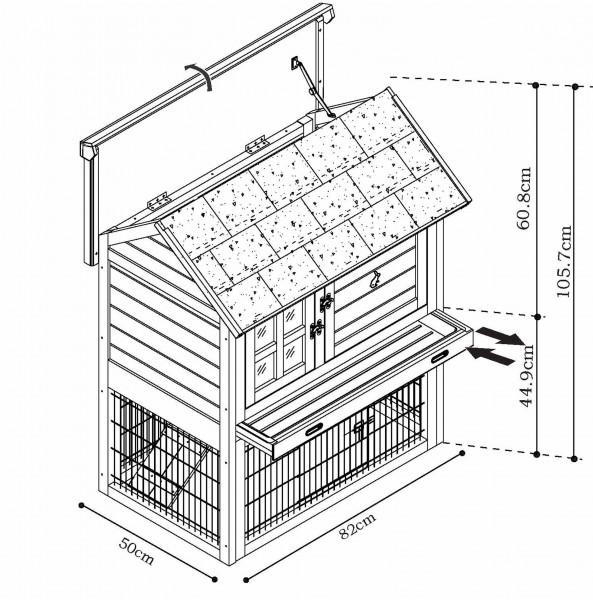 Zelf een konijnenhok bouwen
