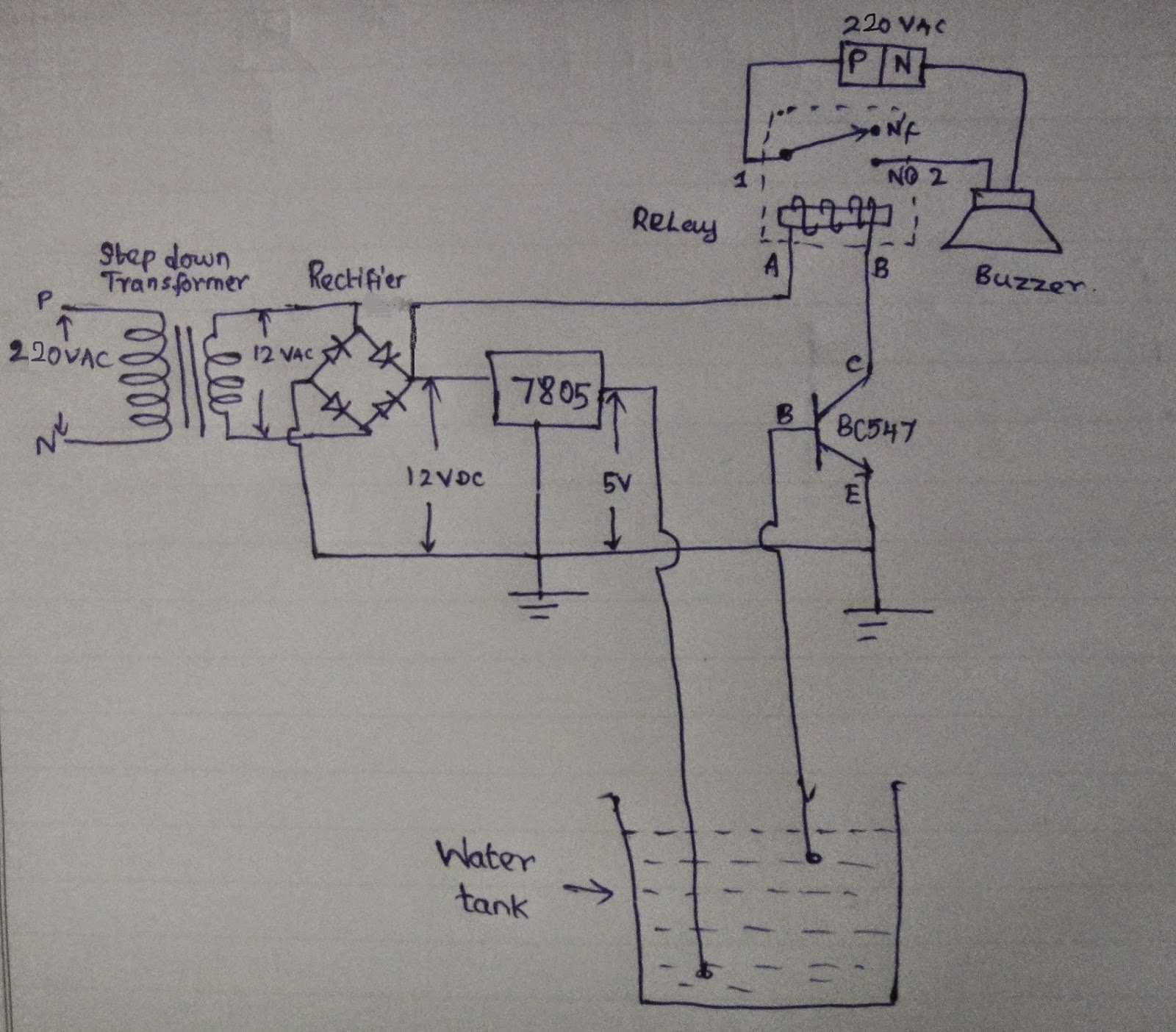 Simpler Electronics 2014 Relay Circuit Using Bc547 And The Above After Soldering Work Looks Like