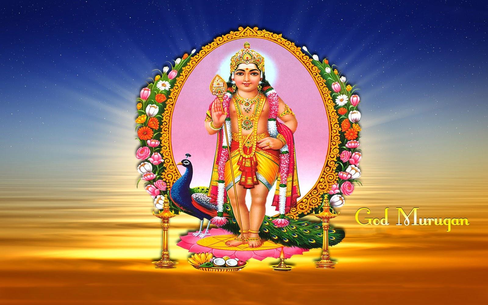 Tamil God Murugan Wallpapers