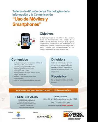 Uso de móviles y smartphone