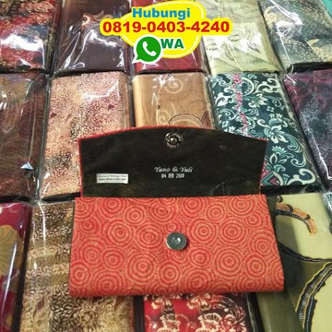 souvenir dompet anyaman pandan 52444
