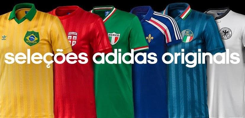 Nuevas camisetas adidas retro de Selecciones!  ecc92e574b942