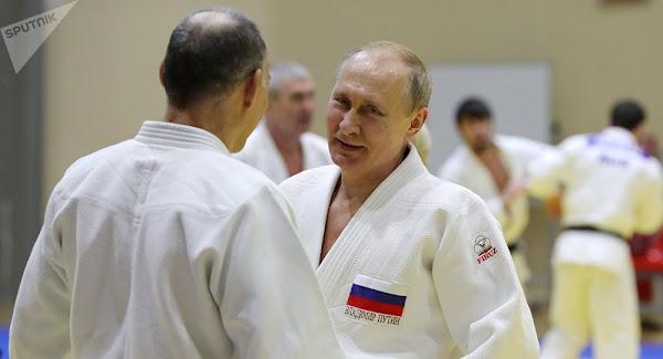 Ο Πούτιν αποκαλύπτει πως το τζούντο τον βοηθά στις διπλωματικές σχέσεις