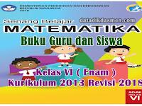 Buku Guru dan Siswa Matematika Kelas 6 SD/MI Kurikulum 2013