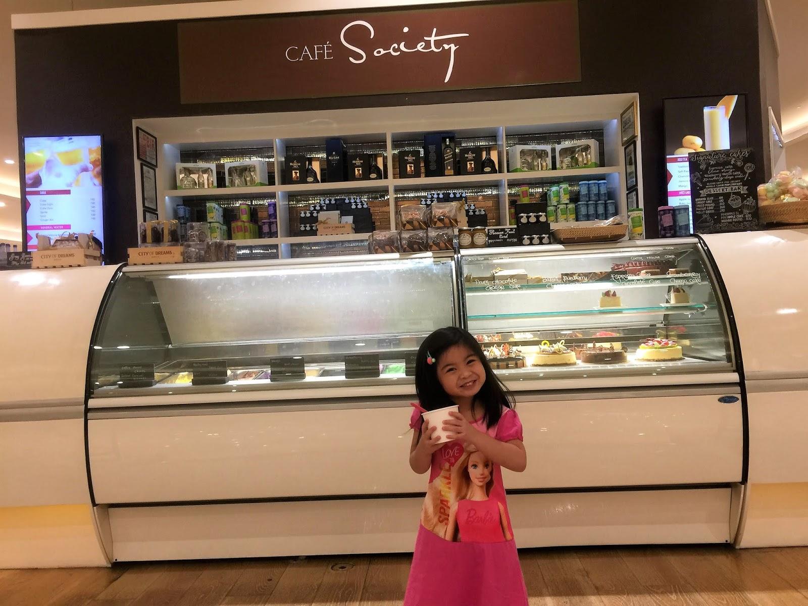 Cafe Society in City of Dreams Manila