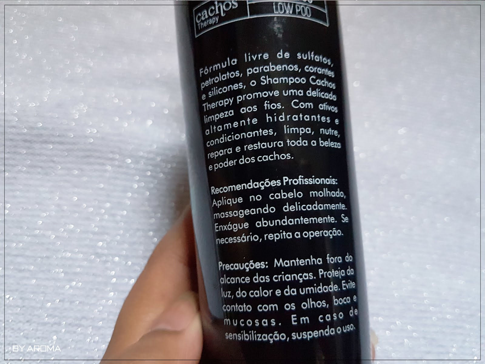 Shampoo Low Poo Cachos Theraphy Aneethun