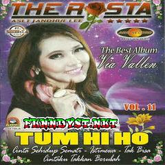 Via Vallen - The Rosta Vol. 11 (The Best of Via Vallen) 2016 Album cover