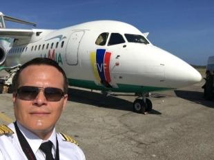 """""""Sem combustível"""", diz piloto antes da queda de avião"""