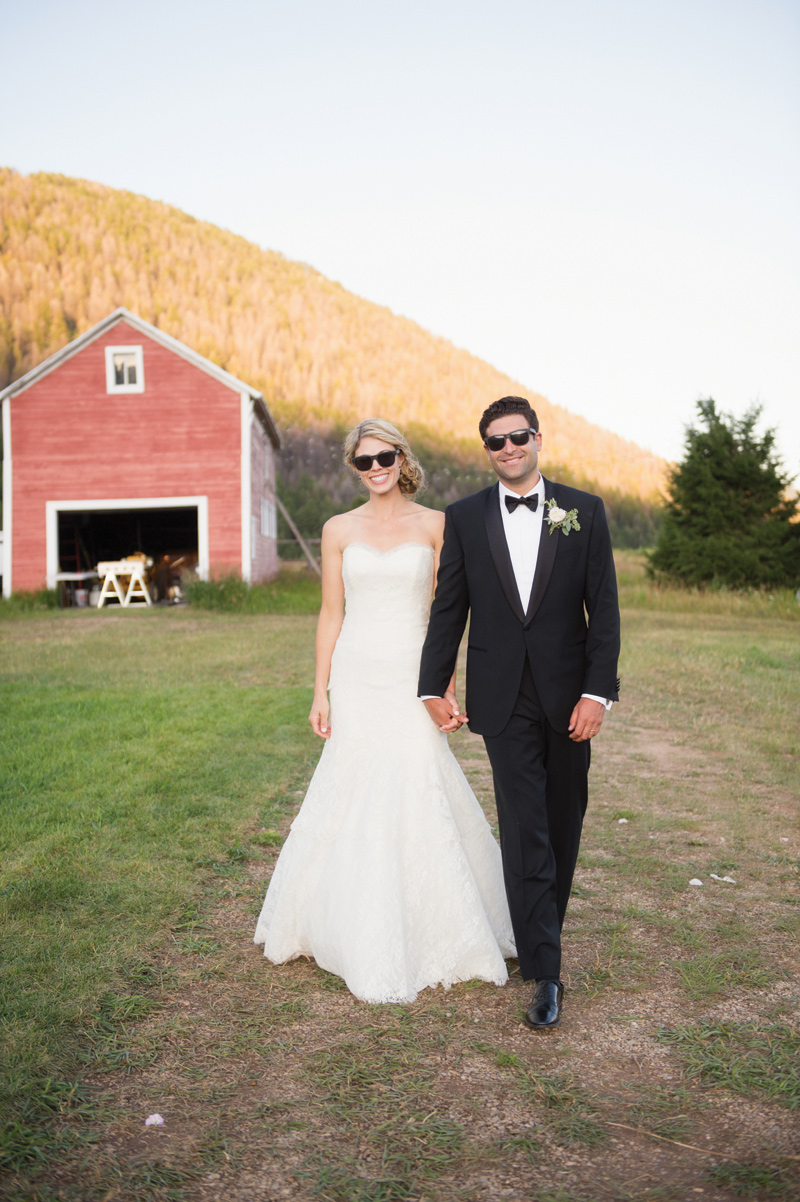 Sunglasses / West Yellowstone Wedding / Amelia Anne Photography