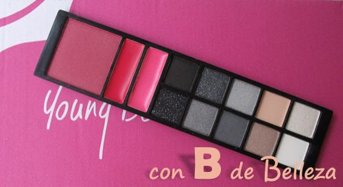 Paleta Eyes lips face E.L.F. Night on the town