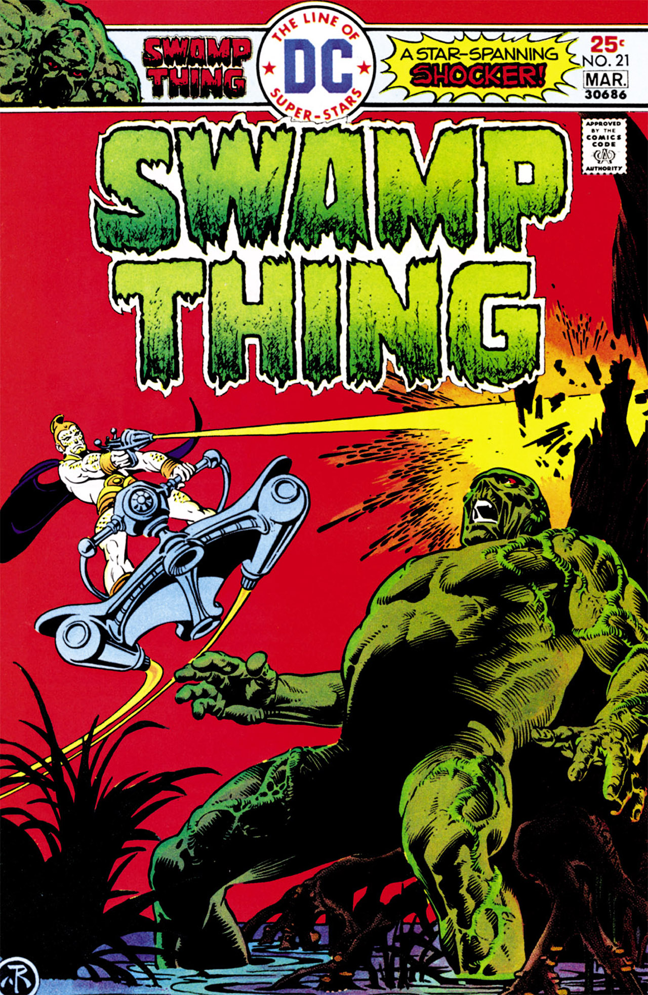 Swamp Thing (1972) Issue #21 #21 - English 1