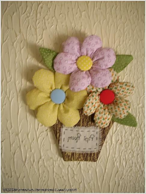 Цветы и игрушки из фетра, флиса и ткани. Crafts felt, fleece, fabric.