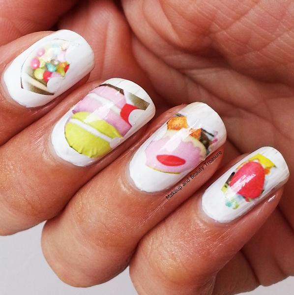 Nail Cake Born Pretty Store Review: Makeup And Beauty Treasure: Cute Macaron Nail Art Water