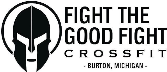 Fight The Good Fight Crossfit logo by Johnny Mason