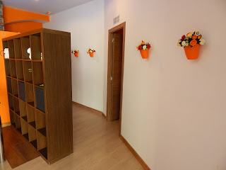 Entrance hall, flowers, Massageinmalaga, oriental, chinese, relaxation, pleasure, comfort, satisfaction, massaged