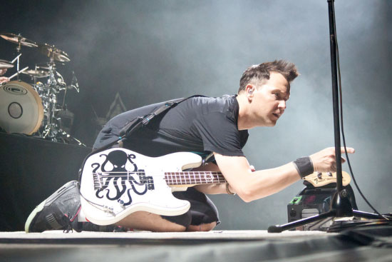 """Mark Hoppus states that the new album contains """"super-fast late-Nineties-punk-rock-sounding songs"""""""