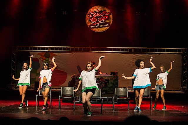 Palco Hip Hop Danças Urbanas dá sequência à programação 2018 neste final de semana