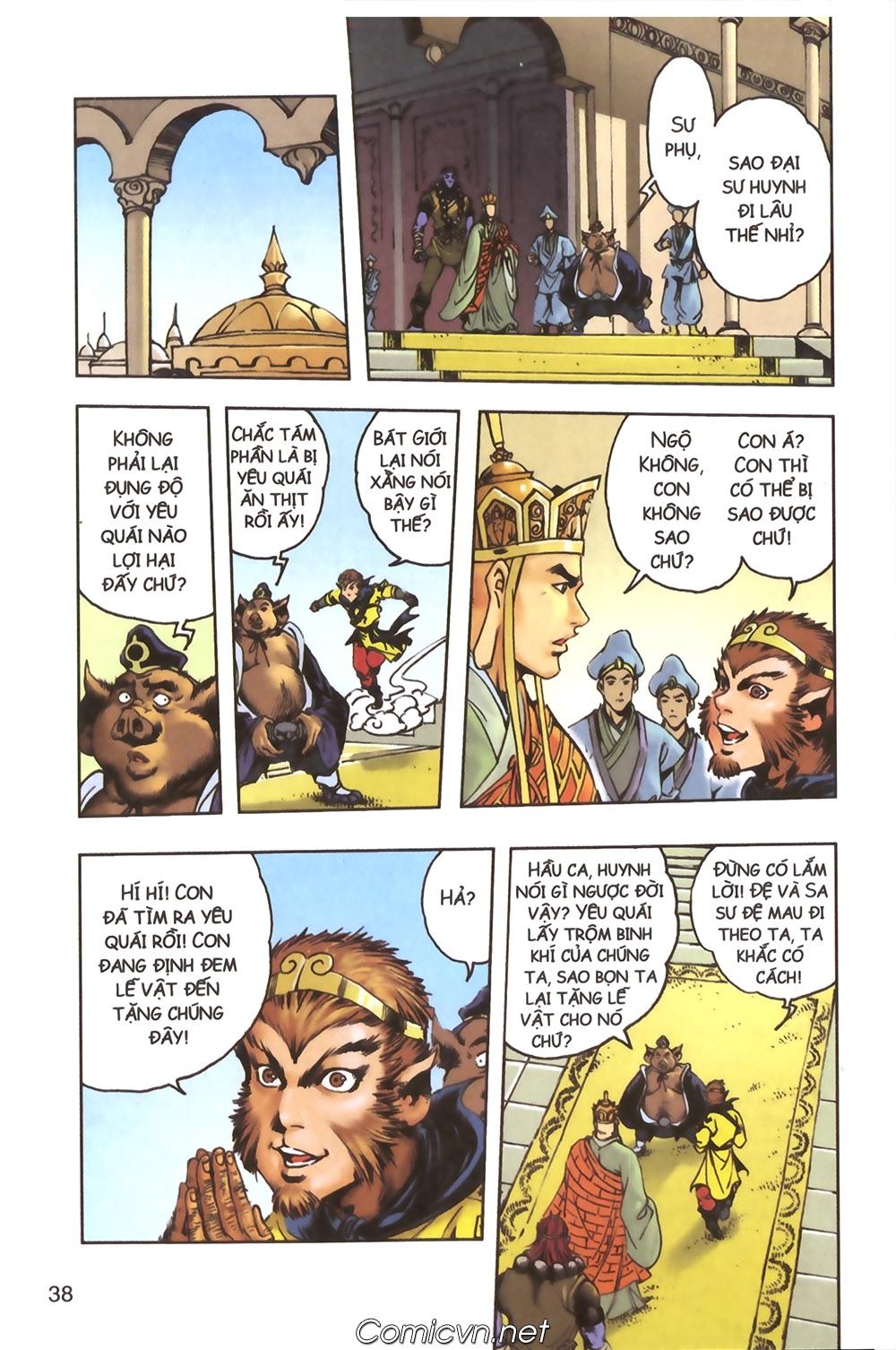 Tây Du Ký màu - Chapter 124 - Pic 34
