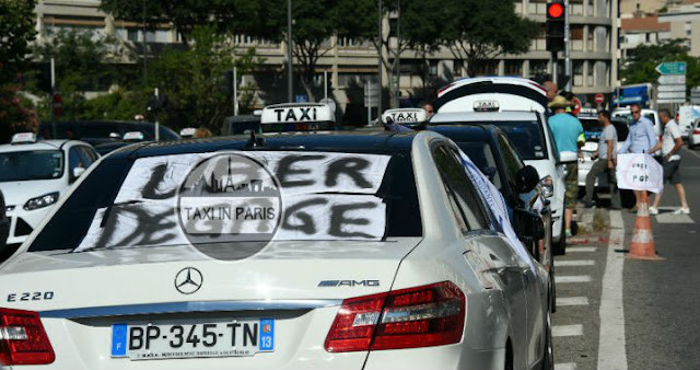 paris taxi app