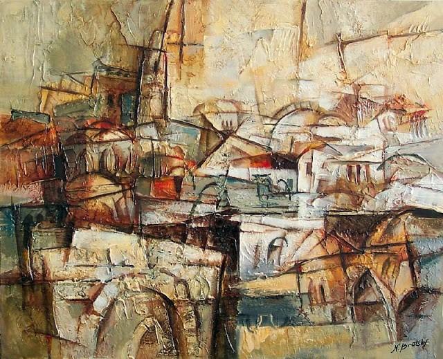 Израильский художник. Nathan Brutsky 3