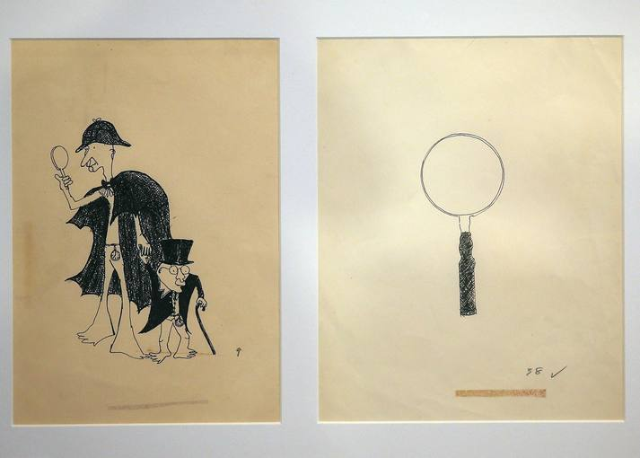 "Libros Pop: John Lennon Dibujos para ""In His Own Write"" (1964) y ""A Spaniard in the Works"" (1965) subastados en Sotheby's"