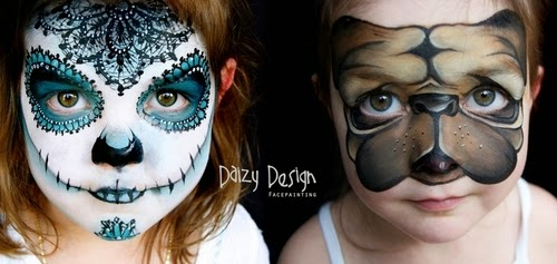 00-Christy Lewis Daizy-Face Painting - Alternate Personalities-www-designstack-co
