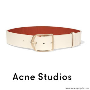Kate Middleton wore Acne Studios Leather waist belt