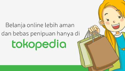 order produk di tokopedia